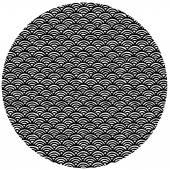 circle shaped hand drawn pattern