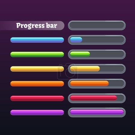 Progress bar set