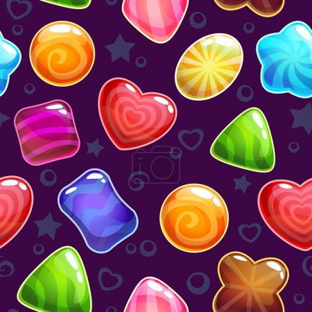 Cute candies pattern