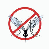 Mosquito warning sign 5