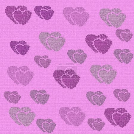 Abstract love sweet heart for greeting, valentines day card, retro background. Greeting cards love heart background. Love sweet hearts shape for greeting, love retro, vintage pattern, background.