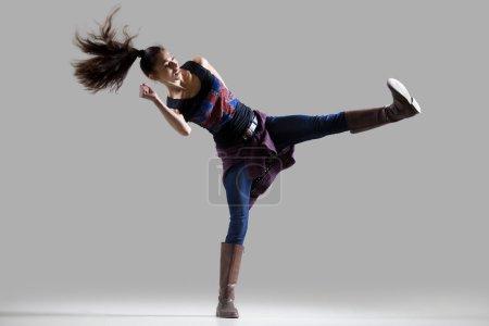 Modern dancer girl