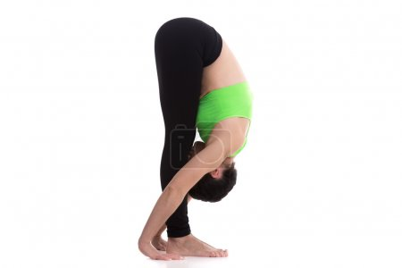 Uttanasana, intense stretch yoga pose