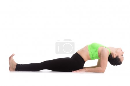 Fish yoga pose