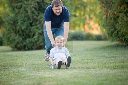 Father and son activities