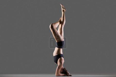 headstand yoga posture