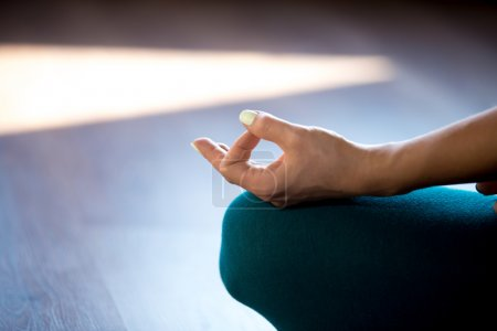 Meditation, close-up
