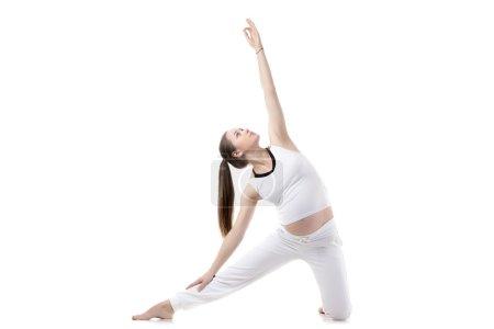 Prenatal Yoga, Gate pose