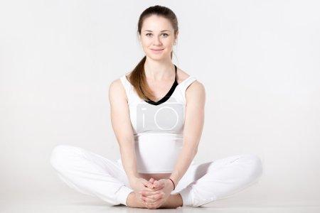 Prenatal Yoga, butterfly pose