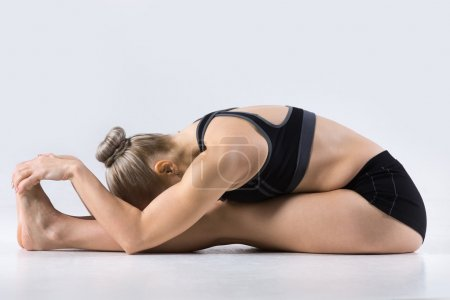 Seated Forward Bend yoga pose