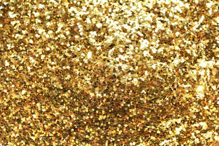Holiday yellow glitter,