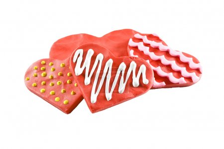Cookies in shape of heart
