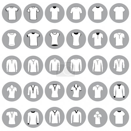 T shirt, jerseys and sweaters