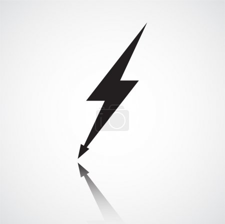 Minimalistic a lightning bolt