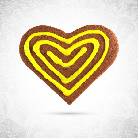 Plasticine heart shaped