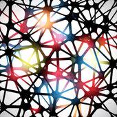 Trojúhelníkový abstraktní pozadí