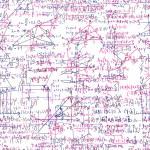 Mathematical seamless texture with formulas. You c...