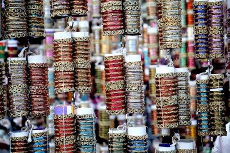 Foto de Brazaletes indios coloridos - Imagen libre de derechos