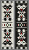 Traditional Arabian Sadu Weaving Bookmarks