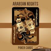 Arabian Nights - Poker Cards - JOKER