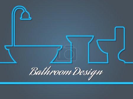 Illustration pour Illustration vectorielle du logo de l'entreprise sur la conception - image libre de droit