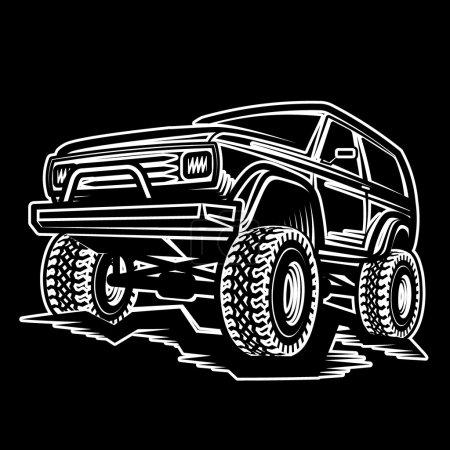 car off-road 4x4 suv trophy truck
