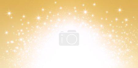 Festive sparkling letterhead