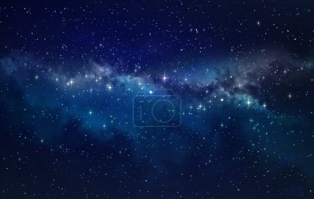 Photo for High definition star field background - Royalty Free Image