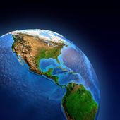 Planet Earth landforms