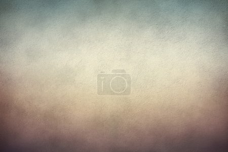 Photo for Rough concrete texture background, stained and brownish - Royalty Free Image