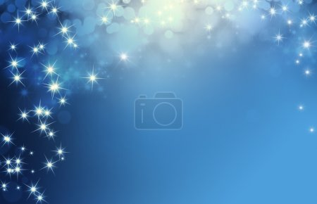 Festive sparkling lights background