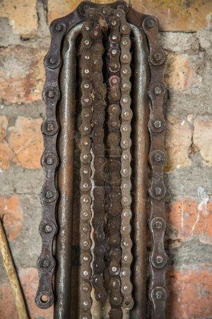Locksmith's workshop. Chain