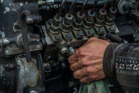 Repair of internal combustion engine...