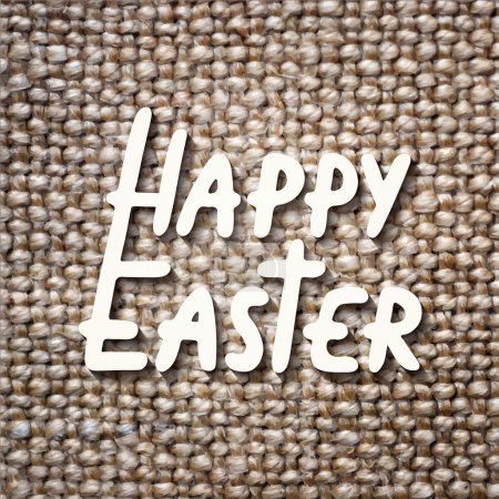 Happy Easter vector typography design elements for greeting cards, invitation, prints and posters.