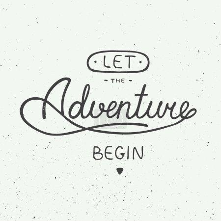Let the adventure begin in vintage style