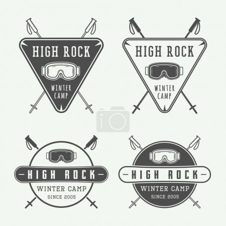 snowboarding or winter sports logos