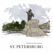 Bronze Horseman - monument to Peter I on the Senate Square in St Petersburg Opening of the monument took place on 7 August (18 August) 1782  Later it got its name due to the famous eponymous poem by Pushkin but in fact is made of bronze