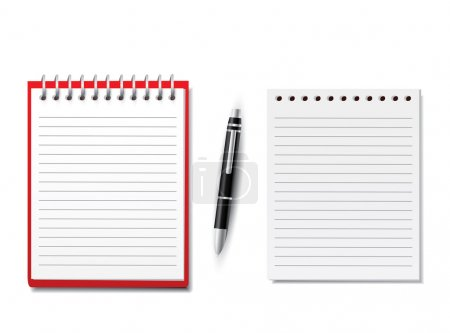 Blank Notebooks with pen