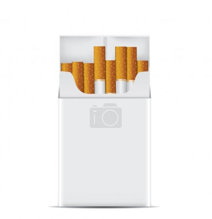 Realistic Pack of cigarettes