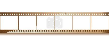 Vieille bande vidéo ou film
