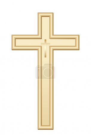 Christian Golden cross