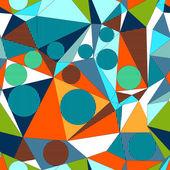 """Постер, картина, фотообои """"резюме, декоративное геометрический, строит иллюзию. бесшовный образец. вектор."""""""