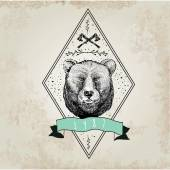 Vintage  Bear logo