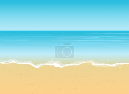 Photo for Summer vacation sea views, beach abstract background - Royalty Free Image