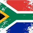 Abstract image of the South African flag patriot...