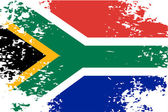 Abstract image of the South African flag patriot