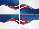 American Flag Vector background for Independence Day and other events