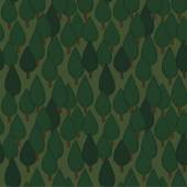 Summer trees seamless pattern