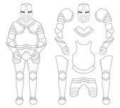 Templar knight armor set