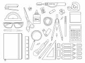 Stationery tools set